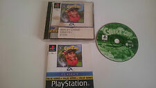 JUEGO COMPLETO CIBER TIGER GOLF V3 PLAYSTATION 1 PS1 PSX.PAL UK.