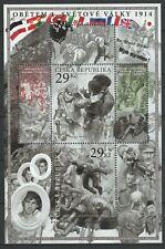 Czech Republic 2014 Military, Century of World War I MNH Block