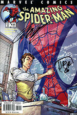 The Amazing Spider-Man #31 Signed By Artist J. Scott Campbell & John Romita Jr,