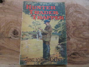 1917 Hunter Trader Trapper Magazine Remington Fur Trader Traps Mead Cycle Ads