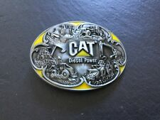 CAT Caterpillar New BELT BUCKLE Metal Disel Power Trucks Excavator Digger