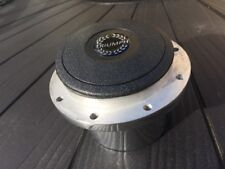 Triumph Stag Steering Wheel Polished Adaptor Boss With Black Logo Horn Push