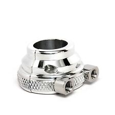 Harley Davidson Throttle Housing Dual Cable Threaded Billet Knurled Polished