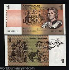 AUSTRALIA $1 P42 1983 QUEEN *BUNDLE* ANIMAL UNC CURRENCY MONEY BILL 100 BANKNOTE