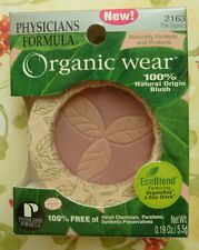 PHYSICIANS FORMULA ORGANIC WEAR PRESSED POWDER BLUSH PINK ORGANICS 2163
