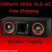 New Cerwin-Vega XLS-6C 2 Way Center Channel Speaker 6.5in 125 Watt Home Theater