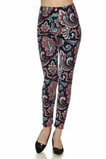 Leggings TC/15 Buttery Soft Always Brushed Color Paisley ONE SIZE