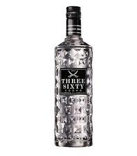 THREE SIXTY Vodka liscia 37,5% vol. bottiglia 3 litri vodka pura morbida NUOVA