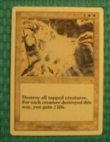 1x Righteous Fury, MP, Starter, EDH Commander Board Wipe Sweeper Gain Life Tap