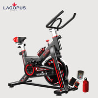 Workout Machine Home Gym Exercise Spin Bike Trainer Stationary Fitness Black