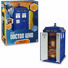 NEW Dr Who Tardis Talking Money Bank Box with Voice, Light and Sound Effects SFX