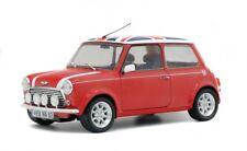 1/18 Solido Mini Cooper Sport 1997 Union Jack rot