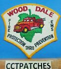 WOOD DALE, ILLINOIS FIRE EMS PATCH