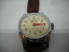 Mickey Mouse Watch Ingersoll Vintage Runs back marked Us Time