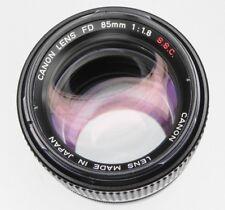 Canon FD 85mm f1.8 S.S.C. #35571