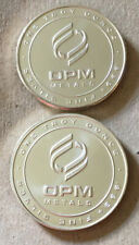 (2) One Ounce ( 1 Oz. ) OPM ( Ohio Precious Metals ) .999 Fine Silver Rounds