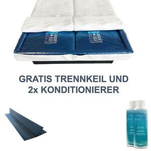 DUAL Wasserbett Matratze Wasserkern inkl. 2 Konditionierer und Trennwand gratis