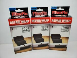 "3 Boxes Medium FiberFix Repair Wrap Roll Fiberglass 2"" x 50"" Roll Best By 2018"