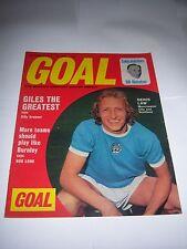 GOAL FOOTBALL MAGAZINE - 6/10/73 - #266 - LEEDS UNITED / MANCHESTER CITY