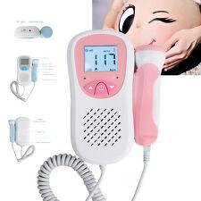 mini  Fetal Heart Doppler LCD Prenatal Baby Sound Monitor with 3MHz Probe