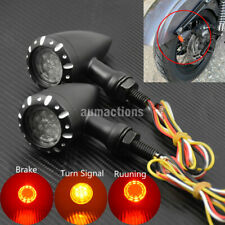 10mm Motorcycle Turn Signal Indicator Brake Light Running Fit For Harley Chopper