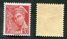Timbre FRANCE YT n° 412 neuf TB** - Type Mercure - 1938/41