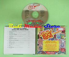 CD MITI DEL ROCK LIVE 17 FOR WHAT compilation 1994 CROSBY STILL NASH*YOUNG*(C34)