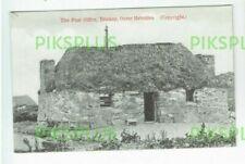 OLD POSTCARD POST OFFICE ERISKAY ISLAND OUTER HEBRIDES SCOTLAND VINTAGE 19005-10