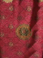 Chenille,Renaissance Medallion, Home Decor Upholstery, Sold By the Yard, 58""