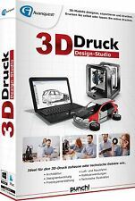 3D Druck Druck Design-Studio für Win ESD / Download von Punch! EAN 4023126119384