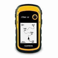 Garmin eTrex 10 Handheld GPS Navigator - Black/Yellow