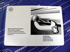 Original W126 Mercedes Aufkleber für ORIS Anhängerkupplung Kugelkopf