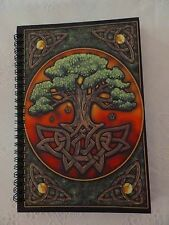 Circle of Life - Tree of Life Journal 5 x 7 NEW Wicca Pagan Book of Shadows