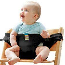 Baby Portable Feeding Seat Belt Baby High Chair Safety Belt Trolley Strap Cover