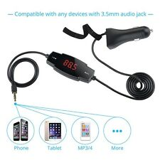 Wireless Hands-free Car FM Transmitter Radio Modulator Car MP3 Player USB Charge