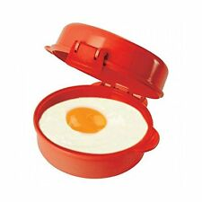 Sistema Microwave Easy Eggs Cooker Maker, Red