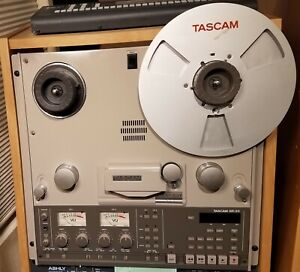 """Tascam BR-20 1/4"""" stereo reel to reel tape recorder deck + extras"""