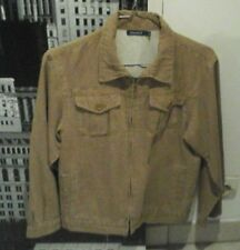 blouson veste jeans Okaïdi 10 ans beige avec fermeture éclair