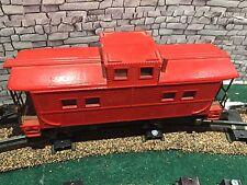 American Flyer Train Bright Red Caboose- Estate Sale
