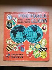 RARE FOOTBALL CLUBS 1975 75 Panini Sticker Album 100% complet