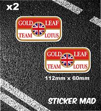 Lotus Gold Leaf Team Lotus Tobacco F1 Lemans Colin Chapman Jim Clarke Hill Elan