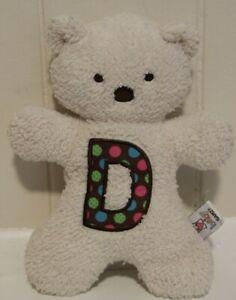 "GANZ Baby A Bear for Baby – D Plush Stuffed Animal Teddy Bear 10"" Vintage"