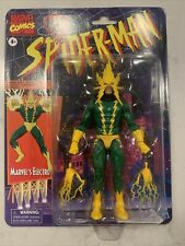 Hasbro Marvel Legends Retro Spider-Man Electro 6 inch Action Figure