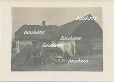 Polen Koniecpol-Schlesien-Soldaten der A.A.Woyrsch und Kinder 1915 (c393)