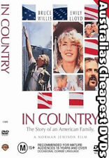 In Country DVD NEW, FREE POSTAGE WITHIN AUSTRALIA REGION 4