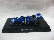 1:64 Kyosho Tyrrell P34 1976 No.3 J.SCHECKTER Diecast Model Car