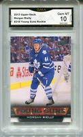 2013 Morgan Rielly Upper Deck Young Guns rookie gem 10 #216
