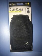 Nite Ize Universal Clip Case Cargo Cell Phone Holder with Holster Belt Clips,