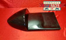 BLACK MANX NORTON WIDELINE STYLE CAFE RACER SEAT - WIDER TO FITTING
