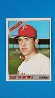 1966 TOPPS BASEBALL #202 CLAY DALRYMPLE PHILLIES EXMT